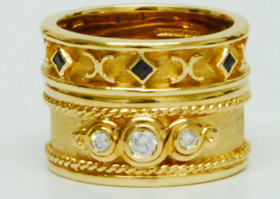 Etruscan style rings