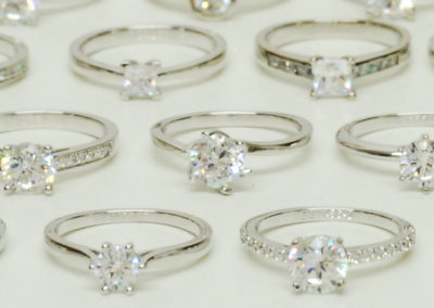 Various diamond rings