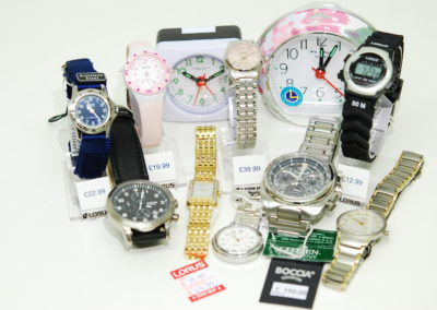 Various watch brands